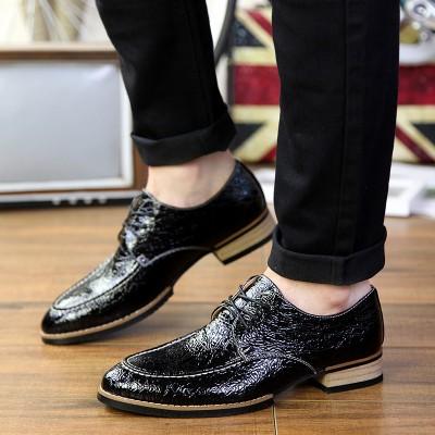 Giày vân cá sấu phong cách người đàn ông Anh GD256