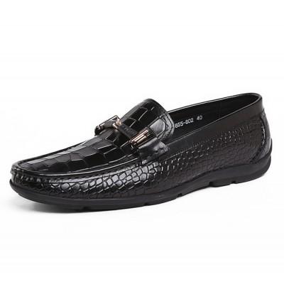 Giày da cao cấp vân cá sấu GD284