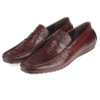 Giày da cao cấp kinh doanh vân cá sấu GD291