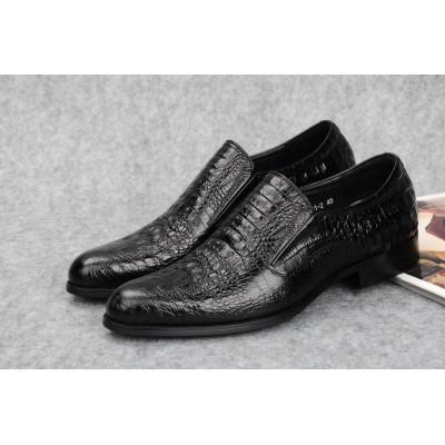 Giày công sở da bò cao cấp quý ông phong cách Anh GD301